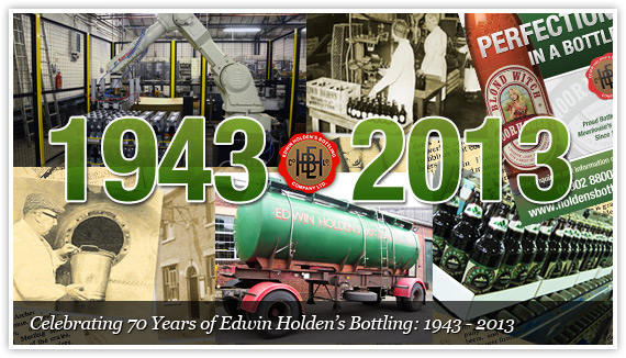 Celebrating 70 years of Holden's Bottling