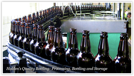 Beer processing and contract bottling